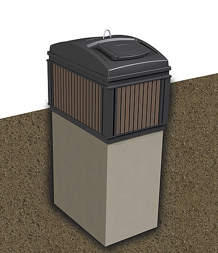 MolokDomino 3 m³ (betong)