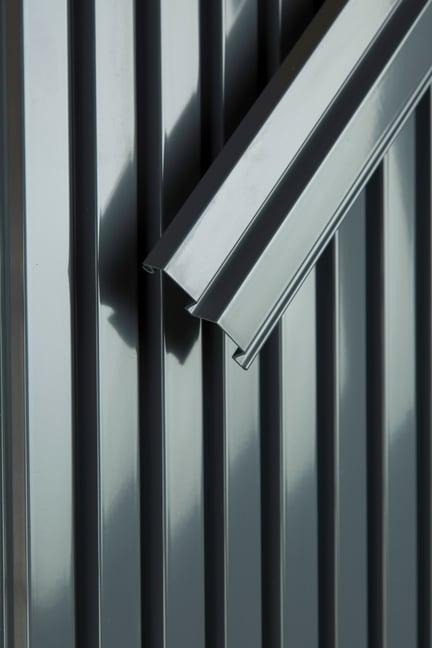 aluminium, standard dark grey RAL7024
