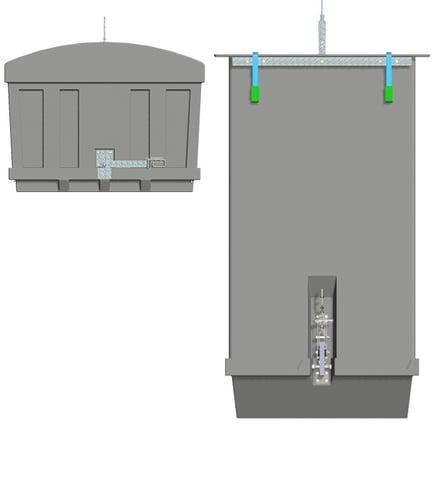 BinSystem™-lyftbehållare